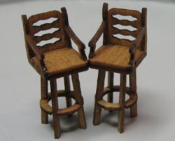 QS332 Bar Stools with Back (2)