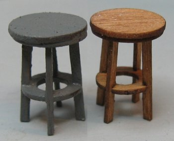 QS338 Bar Stools with no back