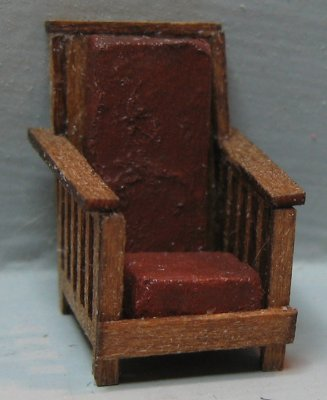 QS233 Morris Chair (Mission Style)