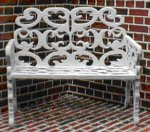 QS823 Wrought Iron Settee