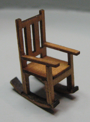 QS210 Mission Style Rocking Chair