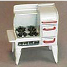 QS400 Antique Kitchen Stove