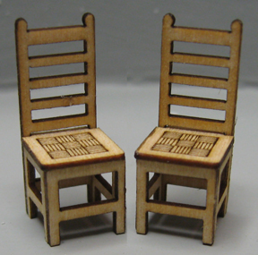 QS422 Basket Weave Chairs (2)