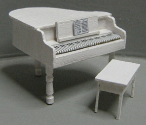 QS713 Petite Grand Piano & Bench Seat