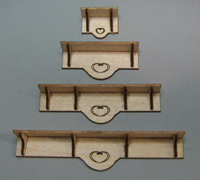 QS805 Plate Shelves
