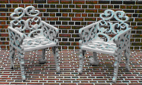 QS824 Wrought Iron Chairs