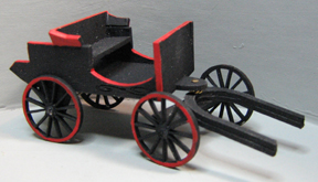 QS833 Doctor's One Horse Buggy