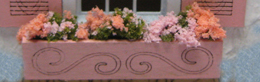 QS838 Decorated Flower Boxes