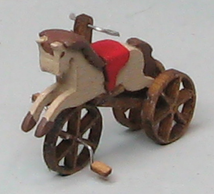 QS877 Antique Horse Tricycle
