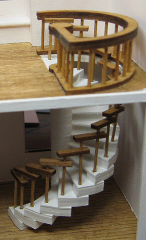 QSA803 Spiral Stairs Click To Enlarge