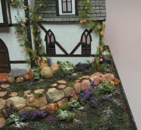 Resin Rocks, walls & plastic cobblestones