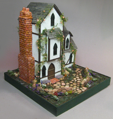 Karen Cary's Miniatures, Quarter Scale Kits & Wicker Kits